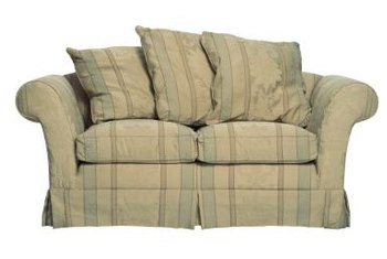 A pillow back sofa has a relaxed, informal look.