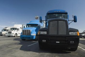 Transportation brokers aren't allowed to handle freight, only arrange shipments with trucking companies.