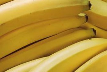 The average banana contains more than 400mg of potassium.