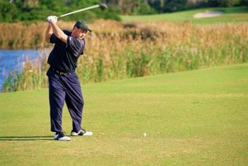 Limiting hip rotation during the backswing helps create torque.