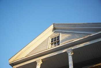 Homes with gable roofs often have attics that are large enough to be converted to living space.