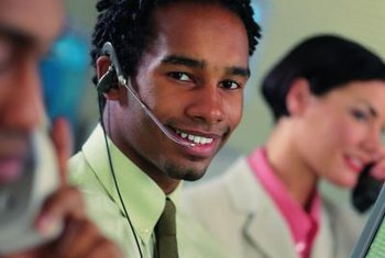 Call centers employ supervisory workers in a number of fields.
