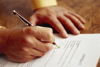 You will enter many contracts as the owner of a small business.