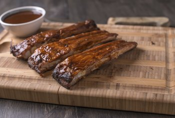 Boneless ribs are high in calories and fat.