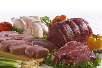 Meats tend to be acid-producing foods, but fruits and vegetables tend to be alkaline-forming foods.
