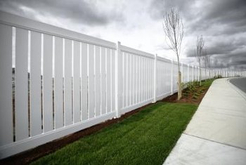 A vinyl fence can last years with very little maintenance.
