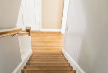 One drawback of nailing stair mats is that you can't hide the nails, and they will leave holes in the steps.