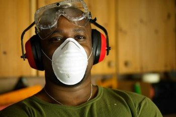 Always wear proper safety gear when using MDF.