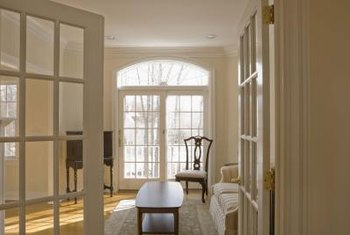 Fix sagging French doors.