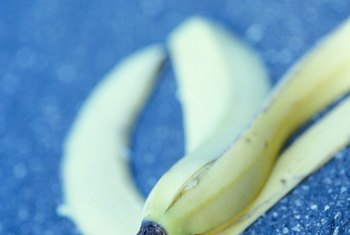 Don't discard banana peels; they are valuable as plant fertilizer.