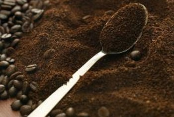 Coffee grounds won't necessarily cause moles to leave.