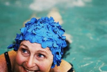 Some gyms have pools and conduct special classes for older swimmers.