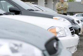 Car dealerships are a standard environment where negotiations lead to below-SRP prices.