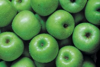 Harvested while tart, Granny Smith apples are great for fresh eating.