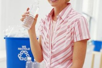 Recycle your water bottles rather than reuse them.