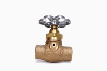 The guides inside gate valves are common trouble spots.