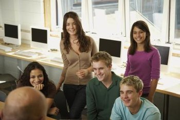 Tutoring small groups can be an excellent career.