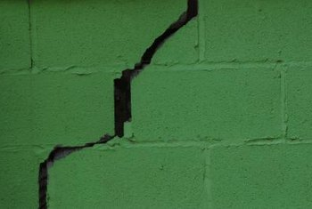 Water built up in or behind a wall can cause seepage and lead to structural problems.