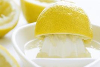 Lemon juice is a rich source of vitamin C.