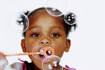 Bubble experiments can be designed for students of all ages.