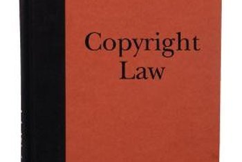 Copyright laws protect creative and scientific works.