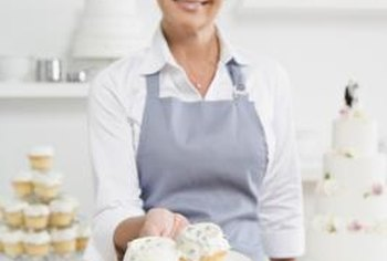 A brick-and-mortar store is one option for a cupcake bakery's location.