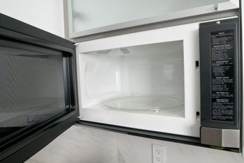 Always use microwave-safe containers when cooking in microwave ovens.