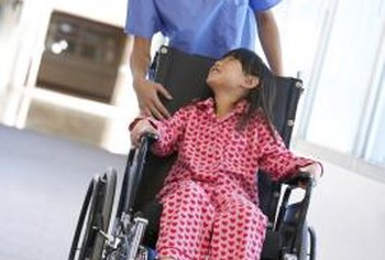 Physical therapist assistants help children regain their physical mobility.