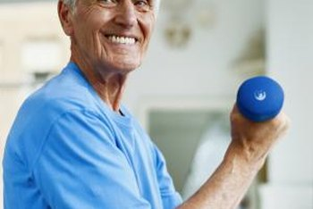 Senior citizens can improve their overall health with strength training.
