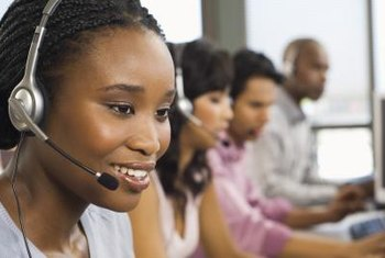 Call center workers share many competencies, including customer service.