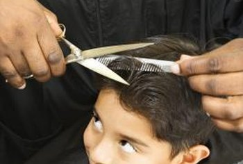 Children require salon staff experienced in dealing with youth.