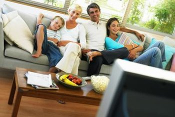 Cable television offers programming for the whole family.