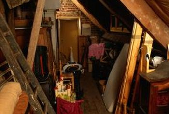Attic mold may cause allergic reactions and respiratory issues.