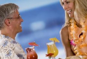 If your restaurants have a tropical theme, hand out promotional items such as leis.