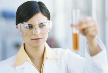 Medical laboratory technologists perform highly technical tests.