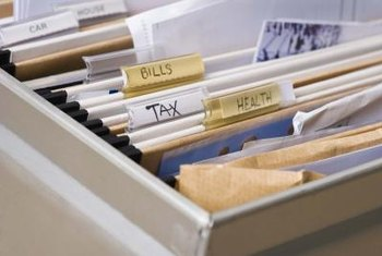 A tax accountant needs backup documents to prepare annual corporate taxes.