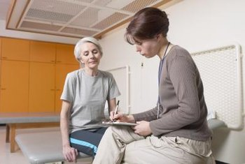 Social workers may refer clients to physical therapists.