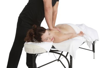 Massage therapists often practice their services using special tables.