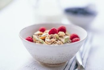 High-fiber cereals often contain high levels of sugar as well.