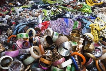 Wholesale vendors offer beads in a variety of shapes and sizes.
