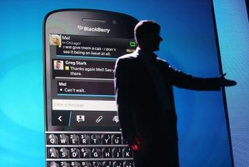 Sharing a BlackBerry Internet connection is possible over Wi-Fi.