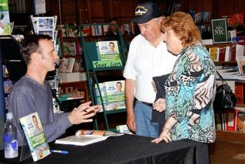 A book signing event. This can be effective in marketing and selling your book.