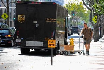 United Parcel Service saves money and fuel by limiting left turns on its delivery routes.