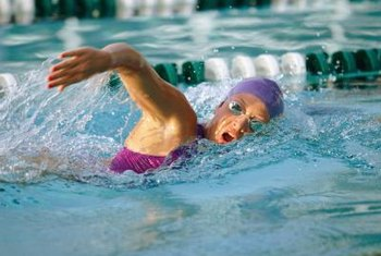 The freestyle is also known as the front crawl stroke.