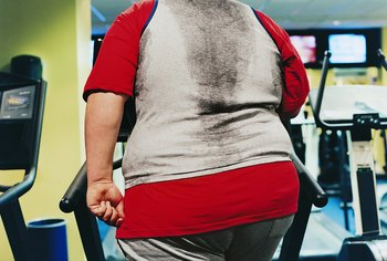 Walking or jogging on a treadmill can burn enough calories to lose weight.