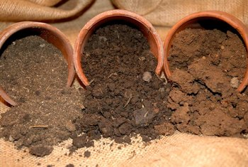 The proportions of sand, silt and clay determine soil texture.