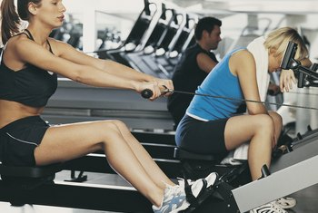 Rolling-seat rowers get your legs in on the workout.