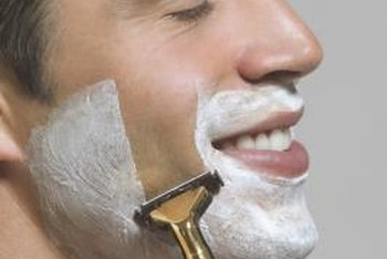 Install a mirror in the shower for an easier shave.