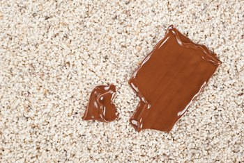 Chocolate stains might look scary, but it's possible to remove them.