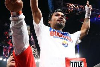 Manny Pacquiao is one of many champion fighters who once fought as a featherweight.